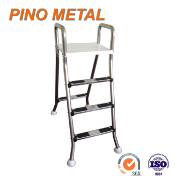 stainless steel intex a frame swimming pool ladder for above ground pool bestway ladder