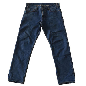cheap autumn winter man 100% cotton deep blue trousers cheap jeans for men bulk wholesale jean pants