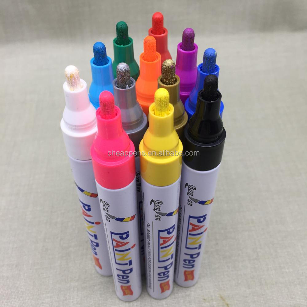 High Quality custom brand Oil based ink paint marker permanent marker
