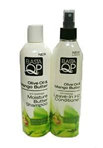 Elasta QP Olive Oil & Mango Butter Moisture Butter Shampoo & Leave-In Conditioner