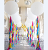 36 inch Giant Latex Balloons and Paper Tassels Balloons Kit