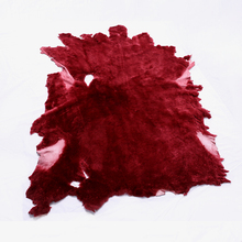 high quality dyed color shearling skins for jacket