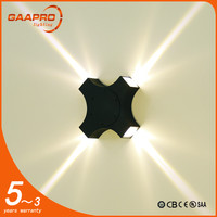 China professional manufacturer 12w exterior led outdoor wall light fixtures