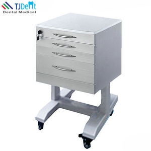 Stainless Steel Movable Save & Durable Dental Assisting Cabinet