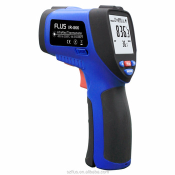 50:1 long distance professional industrial digital high temperature infrared thermometer