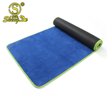 Eco friendly high quality organic cotton cloth yoga mat carrier