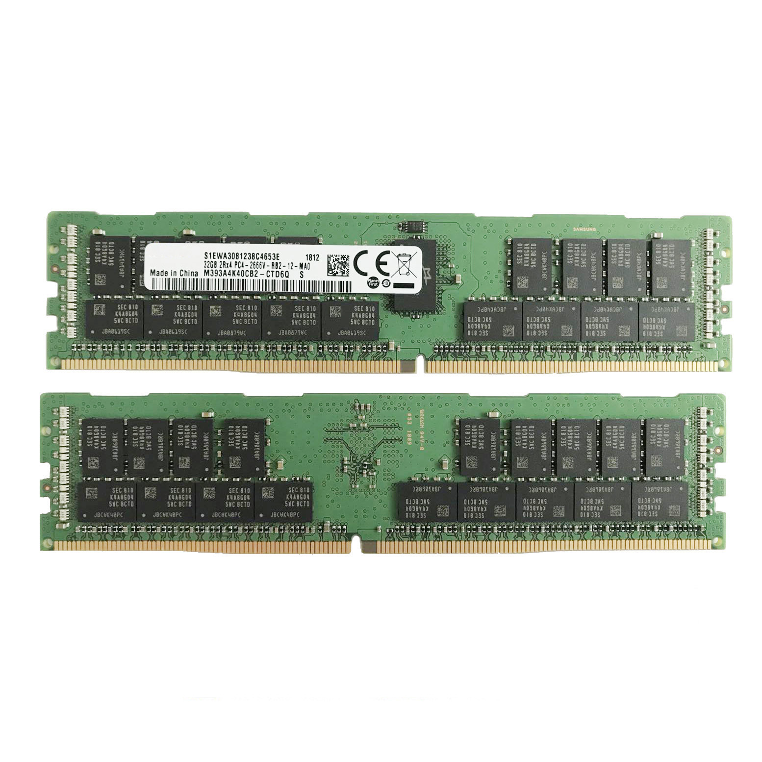 647899-B21 8GB 1x8GB DDR3 PC3-12800R ECC Memory HP ProLiant BL460c G6 BL490c G6