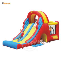 Happy Hop Bouncers Slide Combos-9082N Jumping Castle and Kids Slide