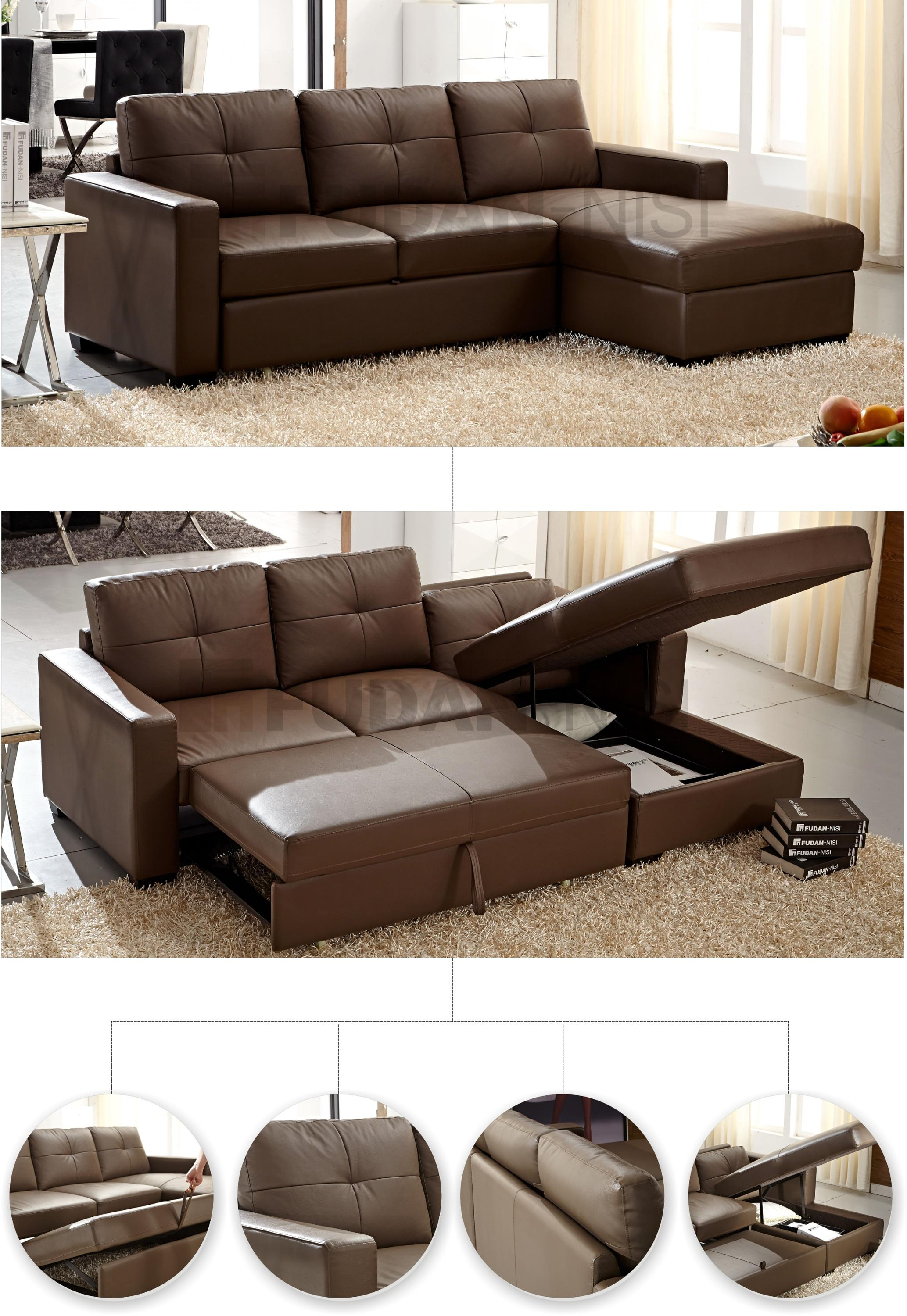 Mini Genuine Leather Sofa Bed For Small Space Buy Leather Sofa Bed Sofa Bed For Small Space Mini Sofa Bed Product On Alibaba Com
