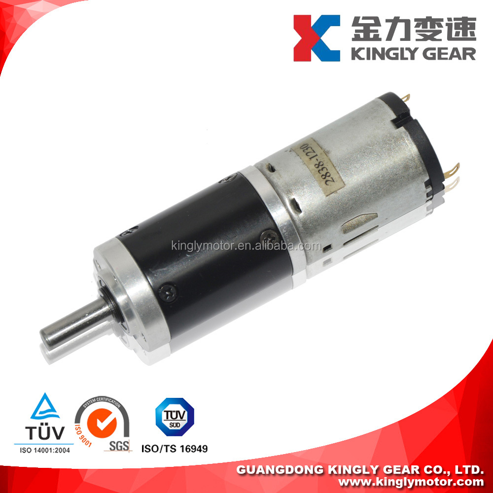 28mm Gear box 12v 24v DC Planetary Gear Motor for ATM Bank and CNC machine