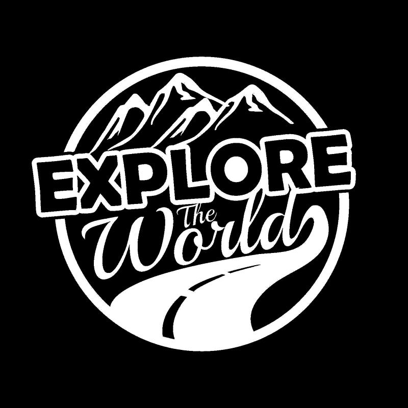 15 13 5cm Explore The World Funny Adventure Car Camper