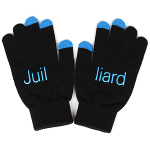 Winter Soft Fashion Mitten Acrylic Fingerless Gloves Five Finger Gloves Screen Touch Gloves