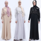 High Quality New Fashionable Latest Designs Islamic Clothing Suit Abaya Muslim Dress Turkish Abaya for Women