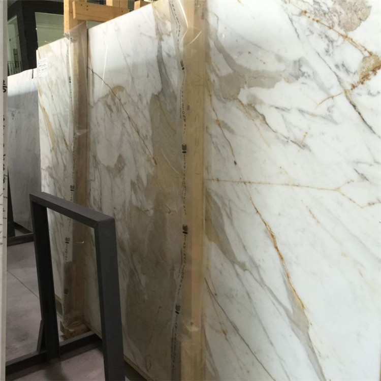 calacatta gold marble slab price