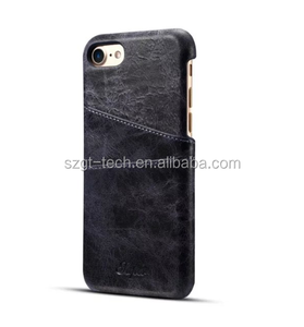 for iphone 7 crack pattern leather case,crack leather back cover for iphone 7,card holder leather case for iphone 8