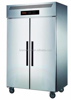 2 Doors Upright Kitchen Freezer/commercial Kitchen Vertical ...