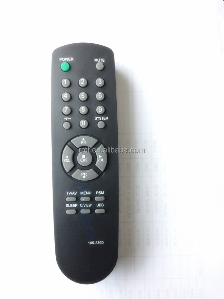 tv sat dvb receiver dvd universal remote controller for lg tv remote control 105-230D for indenesia