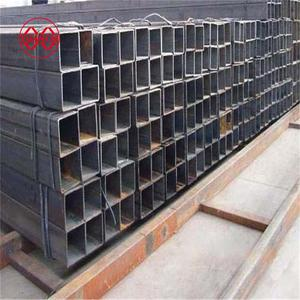 construction materials price list high tensile steel tube manufacturers of china