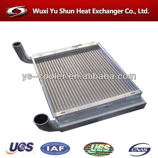 manufacturer of hot selling and high performance customizable aluminum mercedes benz truck radiator
