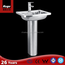 Stainless Steel Pedestal Sink, Stainless Steel Pedestal Sink Suppliers And  Manufacturers At Alibaba.com