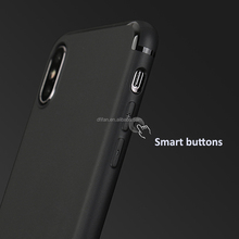 DFIFAN China Manufacturer Mobile Phone Case For iPhone x Black Protective Matte Cover For Apple iPhone x