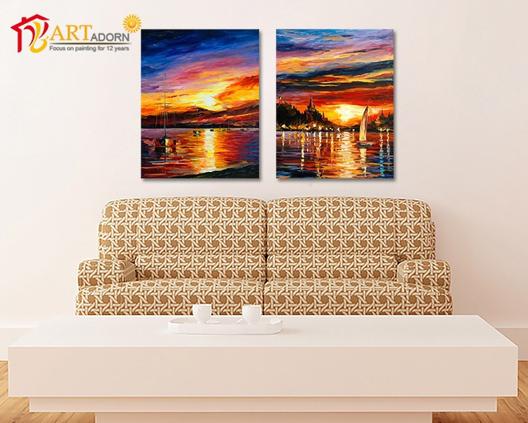 Home decor scenery painting <strong>pictures</strong> for living room