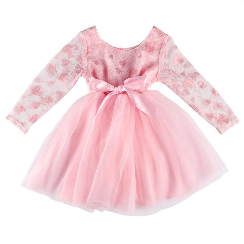 Vestido De Boda De Manga Larga Para Niña Vestido De Princesa De Tul Rosa De San Valentín Buy Vestido De Novia Para Niña Vestido De Fiesta Para Niña Vestido De Novia Para Niña De