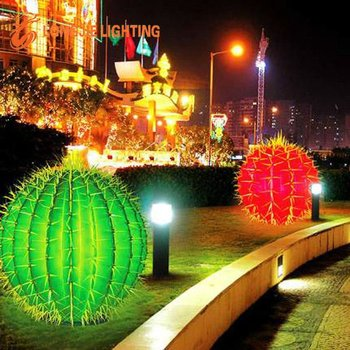 christmas outdoor decorative cactus light - Christmas Swag Lights