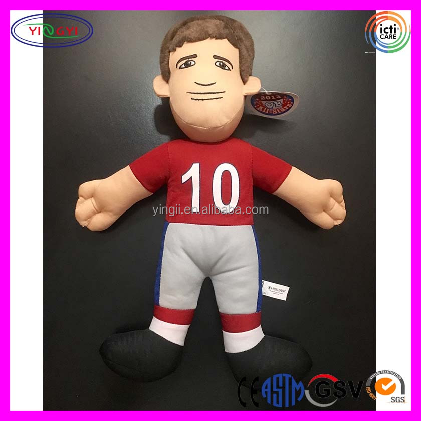 B042 Cheap NY Giants Rally Men Doll Football Plush Stuffed Hot Sale Football Doll