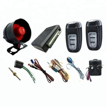 One way plastic car alarm system popular in Mideast & African market