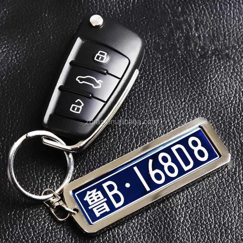 Buy Now 5% Discount Keychain License Plate for Promotional