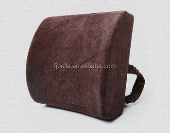 Orthopedic Memory Foam Ergonomic Lumbar Back Support Cushion Pillow