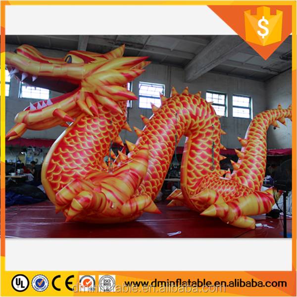 8m(L)*4m(H) promotional/advertising/event/party/exhibition/trade/decoration inflatable animal/cartoon/model/replica/dragon W988