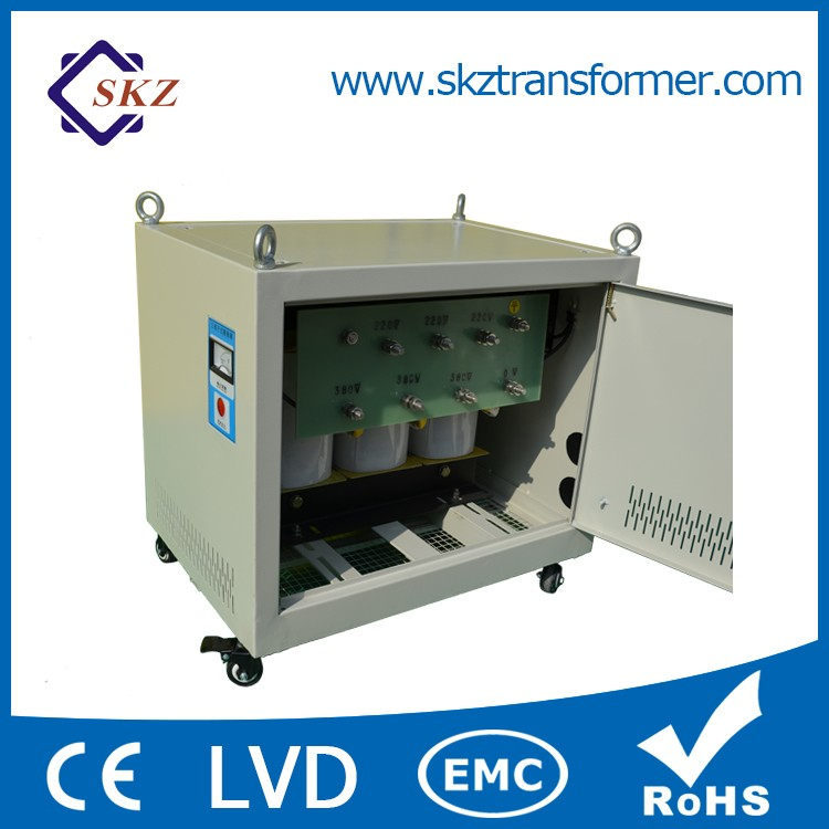 High Efficiency 3 Phase 415v to 380v Step Down Transformer