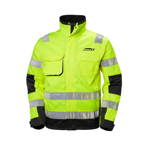 men reflective jacket workwear worker uniforms