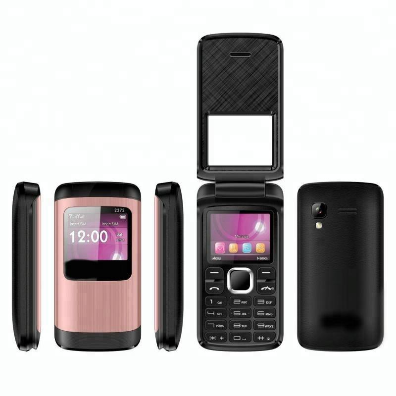 2018 New Whatsapp flip phone Dual sim very small mobile phone T400 for 3310