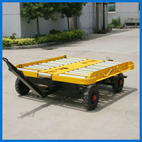 GSE Pallet dolly trailer for aviation ground support equipment