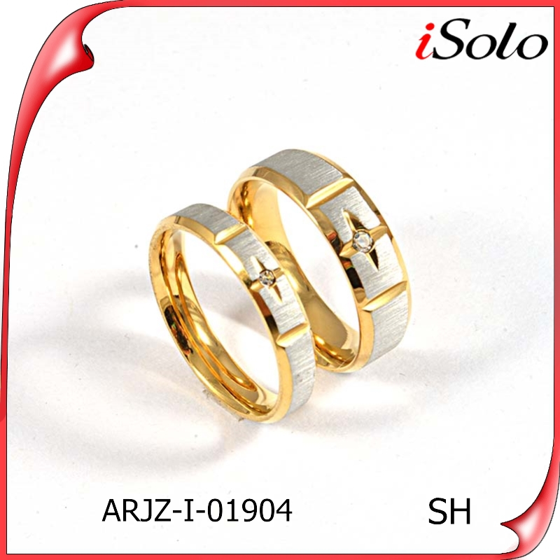 Dubai Couple Wedding Rings New Design Fashion Couples Finger Ring
