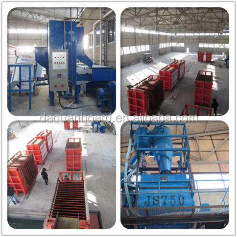 Automatic eps cement sandwich wall panel production line with whole packing machine from A-Z