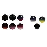 High quality CR-39 sunglasses tinted optical lens