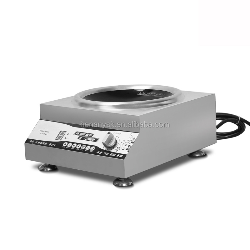 Electric Induction Cooker 3 Grade Energy Commercial Restaurant Induction Cooker With High Power