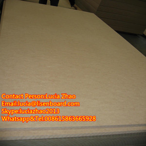16mm plain or Melamine MDF wood sheets FOR IRAN