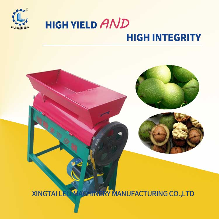 Factory price walnut peeling and washing machine