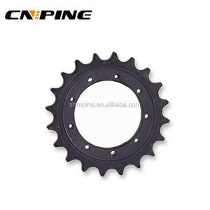 Construction Machine Parts Mini Crawler Undercarriage Sprocket and Chain Cast Steel Sprocket for CAT D8R