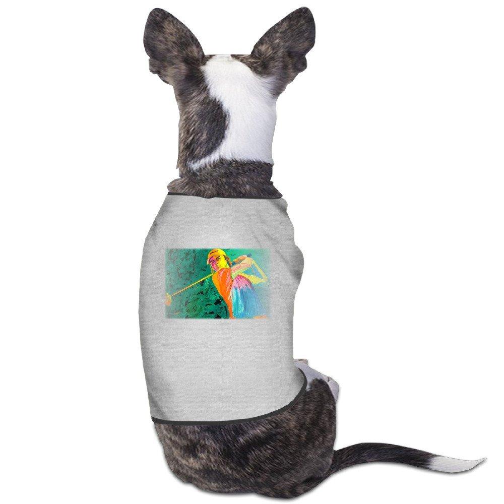 ca102218 Get Quotations · Cute Rickie Fowler Golf Rio Olympic 2 Pet Dog T Shirt.