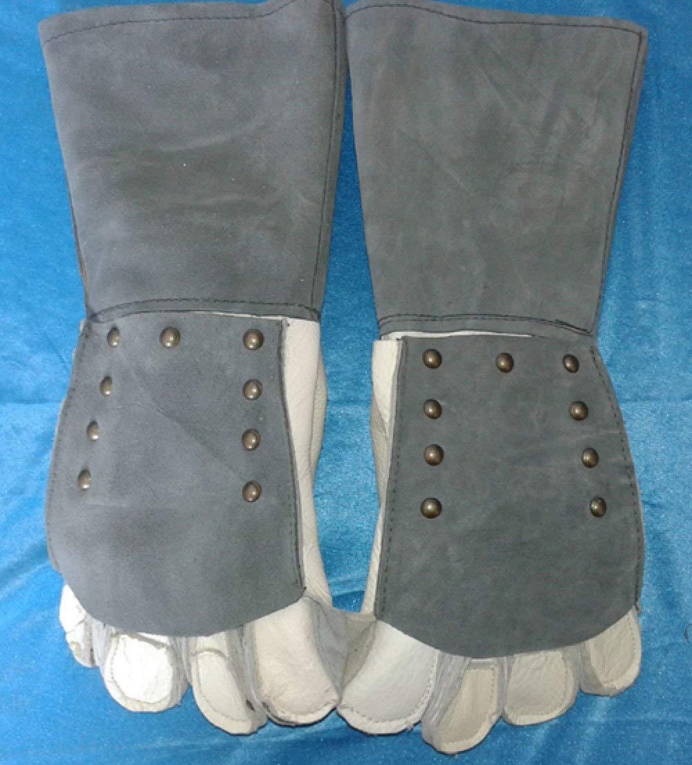 ANHPI Pet Anti-bite Thickening Lengthening Protection Gloves Multi-color Onesize,Grey-Onesize