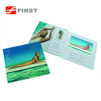 7 inch lcd screen video book in print