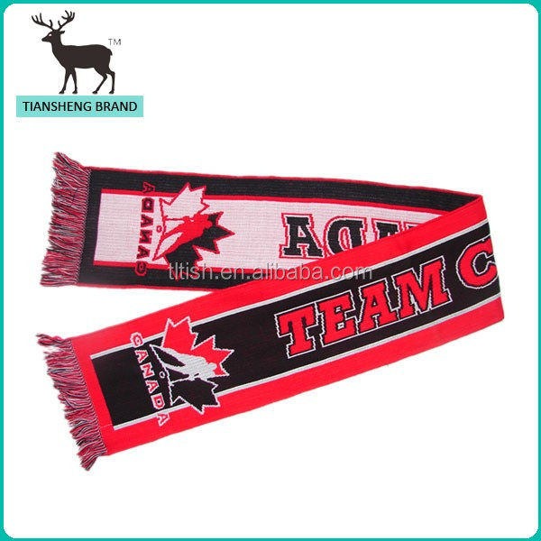New products 2015 football scarf history display case