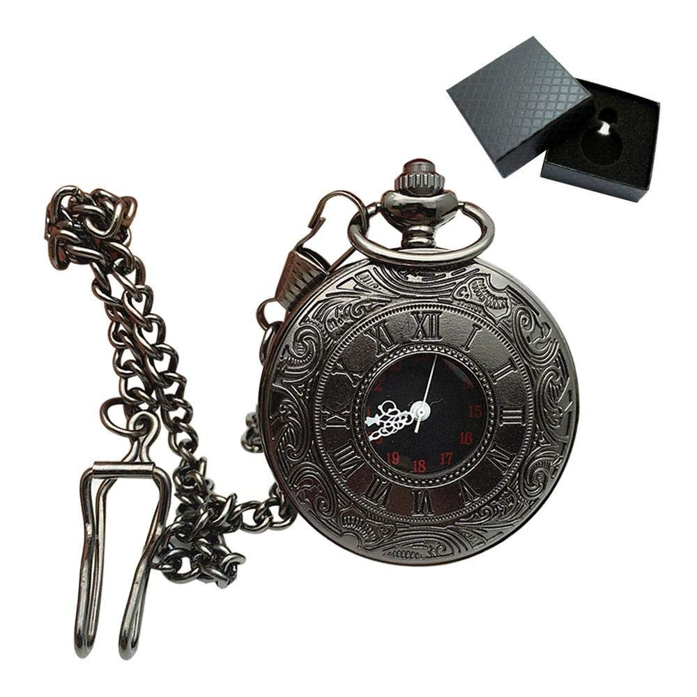 Get Quotations · Aolvo Engraved Pocket Watch for Men   Women bd57a59ddc