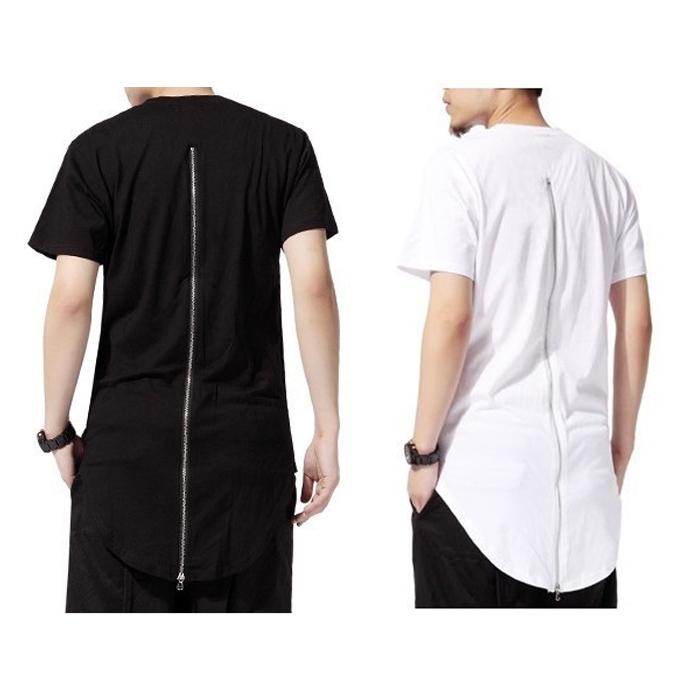 81e0c705ea0e Buy Men t shirt tyga cool oversized Gold side zipper hip hop extended t- shirt top tees casual shirt in Cheap Price on m.alibaba.com